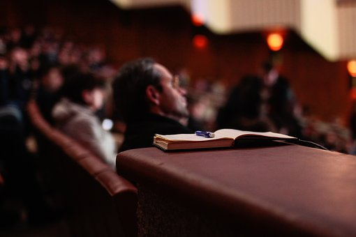 room for attending symposiums audience